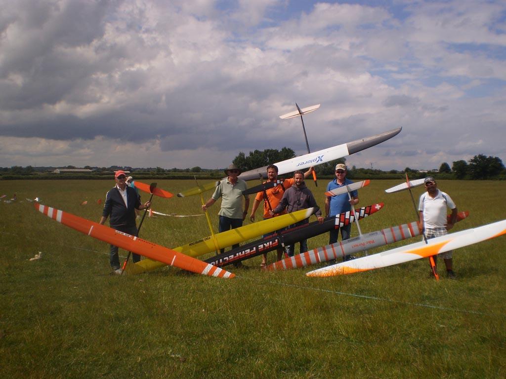 Flyoff Group – Left to Right: Graham Wicks, Brian Johnston, Thomas Roessner, Thomas Eichenauer, Chris Glover, Eser Kismir.