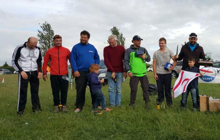 The Fly-off Pilots. Ivan Moquerau, Salahi Tezel, Thomas Rossner (with daughter), Peter Allen, Erel Canken, Robin Galeazzi and Mehmet Serden (with proud son)